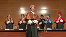 Jean-Pierre Sauvage, doctor 'honoris causa' UPV