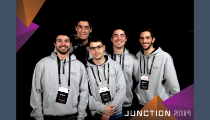 Makers UPV, premiados en Junction 2019