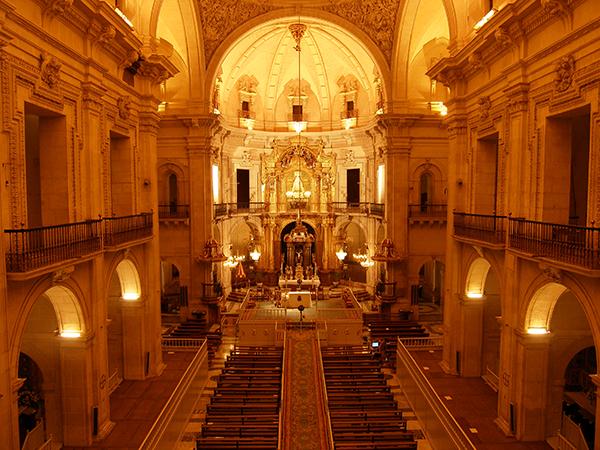 Resultado de imagen de imagenes de la Basilica de Santa María Elche