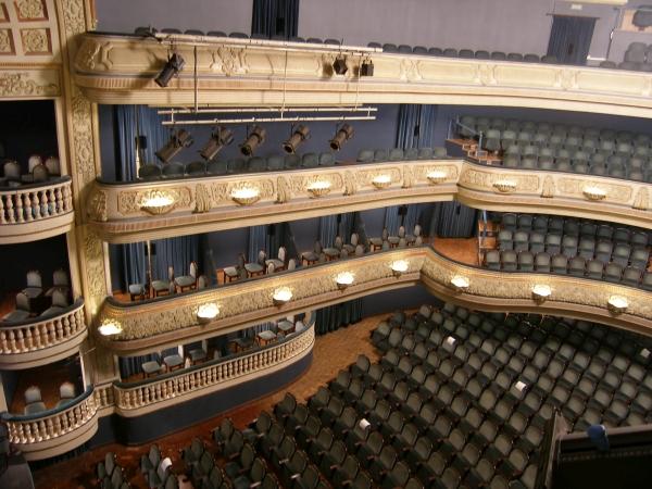 Teatro principal de alicante ac stica virtual del for Teatro principal valencia