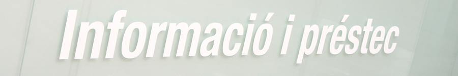 cartell informació