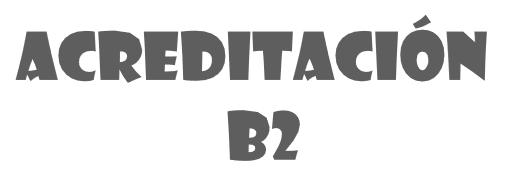 Acreditación B2