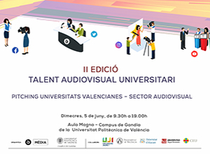 Talent Audiovisual Universitari - Pitching Universitats Valencianes