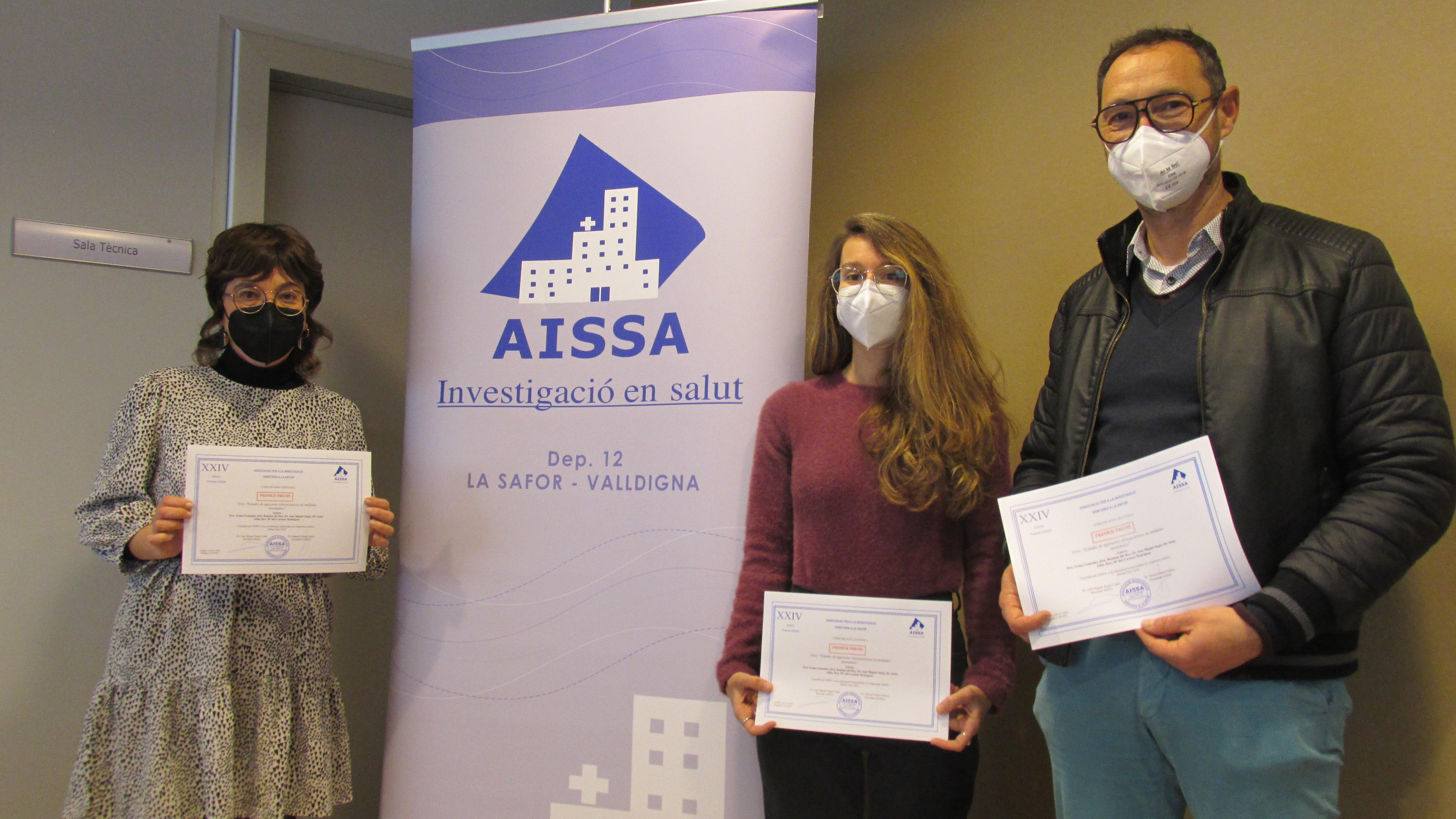 Trabajo de investigación premiado por la Fundación AISSA
