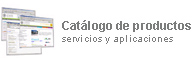 Cat�logo de productos