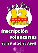VOLUNTARIADO 12 HORAS