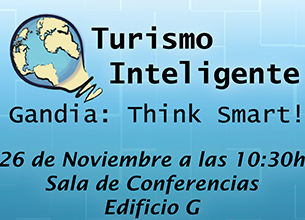 Jornada 'Turismo inteligente. Gandia: Think Smart'