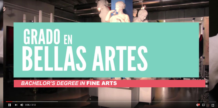 Video Presentación Grado en Bellas Artes - Video BA in Fine Arts