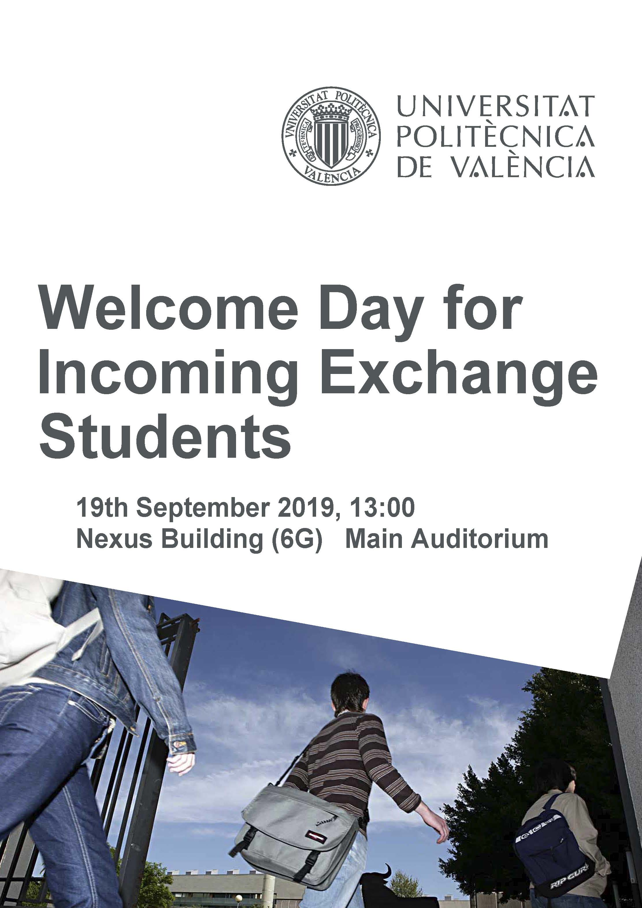 Welcome Day 2019